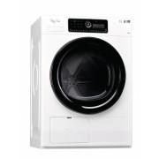 Uscator de rufe Whirlpool Supreme HSCX 10446, Pompa de caldura, 6th Sense, 10 kg, Clasa A++, Inverter, Alb , necesita Piedestal H8003437475092