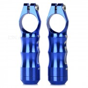 Mango AEST YBE88A CNC de aluminio de bicicletas Bar Ends - Azul