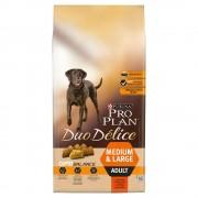 10кг Duo Délice Pro Plan, суха храна за кучета с говеждо и ориз
