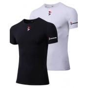 Gladiator Sports Compressie shirt - Heren (Leverbaar in Zwart en Wit)