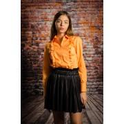 Camasa femei office Dahlia orange