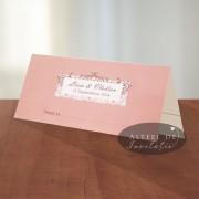 Place card nunta Vals vienez
