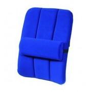 Sissel Sistema Supporto Lombare, SISSEL® DorsaBack-Car+Pad, Blu