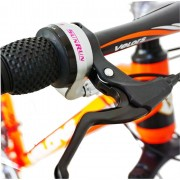 Bicicleta MTB-HT 26 Velors V2656A cadru aluminiu portocaliu alb