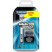 Gillette Mach 3 Turbo maquinilla de afeitar + recambios de cuchillas 3 uds