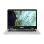Asus chromebook C423NA-EB0050 zilver