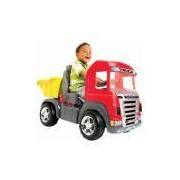 Caminhão Truck Vermelho Pedal Magic Toys