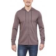 Prana Keller sweater Heren grijs/bruin XL 2015 Klimkleding