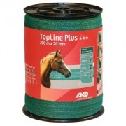 AKO TopLine Plus szalag, 200m/20mm, zöld