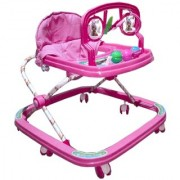 Oh Baby Baby Pink Adjustable Rattle Walker For Your Kids SE-W-64