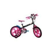 Bicicleta Caloi Monster High T10R16V1 Aro 16 Preta