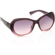 Opium Over-sized Sunglasses(Pink, Violet)