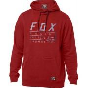 Fox Lockwood Pullover Feece Sudadera con capucha Rojo XL