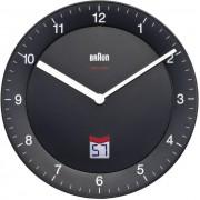 Ceas de perete DCF 20 cm silenţios negru Braun 66012