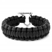 Tailor Toki Bracelet en paracorde noire