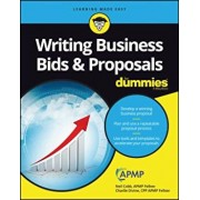 Writing Business Bids and Proposals for Dummies, Paperback/Neil Cobb