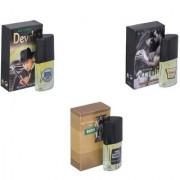 Skyedventures Set of 3 Devdas-Romantic-The Boss Perfume