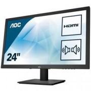 AOC LED monitor AOC E2475SWJ, 59.9 cm (23.6 palec),1920 x 1080 px 1 ms, TN LED HDMI™, VGA, DVI, na sluchátka (jack 3,5 mm)