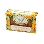 Sapun natural Cu Lamai,Portocala&Goji 90 gr Revitalizant