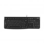 Logitech K120 USB waterdichte splash Wired toetsenbord voor desktop computers/laptops (zwart)