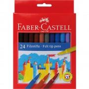 Carioci 24 culori/set FABER-CASTELL