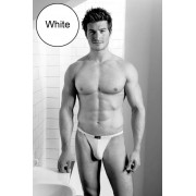 Kiniki Raffles Stretch Cotton Tanga Brief Underwear White RF8010