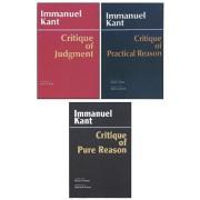 Three Critiques, 3-volume Set. Vol. 1: Critique of Pure Reason; Vol. 2: Critique of Practical Reason; Vol. 3: Critique of Judgment, Paperback/Immanuel Kant