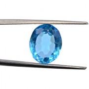 13.6 Ratti High quality Topaz stone Blue topaz Lab Certified