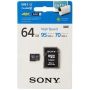 Sony microSDXC 64GB Class 10 UHS-I 3 95MB/s + adapter