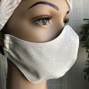 Tvarovaná textilní rouška dvouvrstvá - V&V