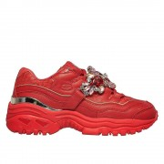 Skechers Energy Stunning Gem 149247RED universel toute l'année chaussures pour femmes rouge 5 UK / 8 US / 38 EUR / 25 cm
