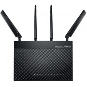 Router Wireless ASUS 4G-AC68U, Gigabit, Dual Band, 1900 Mbps, 4G, 4 Antene externe (Negru)