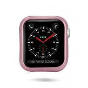 DUX DUCIS 2x Gel telefontok hátlap tok TPU Cover Apple Watch 4 44mm rózsaszín és átlátszó