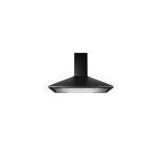 Coifa de Parede 60 cm Preta Piramidal 4 Bocas com Duplo Filtro - BAI60BEANA Brastemp