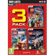 Warner Bros Lego Pack 2 - Lego Movie, Marvel Super Heroes, Hobbit (PC)