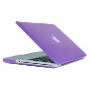 Apple MacBook Pro 13.3 inch Kristal structuur hard Kunststof Hoesje / Case (paars)