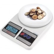 Sellerstory Electronic Kitchen Digital Weighing Scale 10 Kg /digital Kitchen Scale Electronic sf-400 Weighing Scale(White)