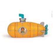 JANOD Drewniana łódź podwodna magnetyczna - składana łódź za pomocą magnesów,