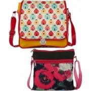 Haqeeba Women Multicolor Sling Bag