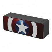 Marvel Bluetooth hangszóró - Amerika Kapitány 001 micro SD olvasóval, AUX bemenettel, kihangosító funkcióval 10W piros