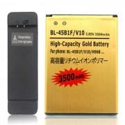 battery + conjunto de carga del muelle para LG V10 / BL - 45B1F - oro