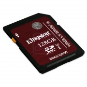 Kingston - Carte mémoire flash - 128 Go - UHS Class 3 / Class10 - SDXC UHS-I