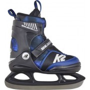 K2 Rink Raven Boa Ajustable Patins à glace (Bleu)