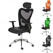 Profi-Bürostuhl Atlanta, Chefsessel Drehstuhl Schreibtischstuhl, Kunstleder ~ Variantenangebot