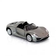 1:43 Licensed Die Cast Porsche 918 Spyder car with Pull Back Function (Innovador)