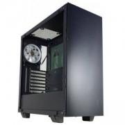 Кутия за настолен компютър INAZA Drone DRO01-BK, Mid Tower, черна, DRO01-BK_VZ