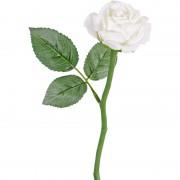 Geen Witte roos kunstbloem 27 cm