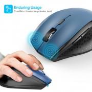 TeckNet M006 2.4G Wireless Mouse - ергономична безжична мишка (за Mac и PC) (син)