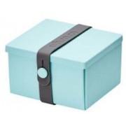 Uhmm Box vierkant Mint - Dark Grey