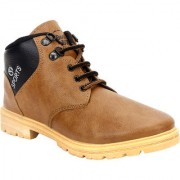 Armado Mens Boys-1075 Brown Boots.